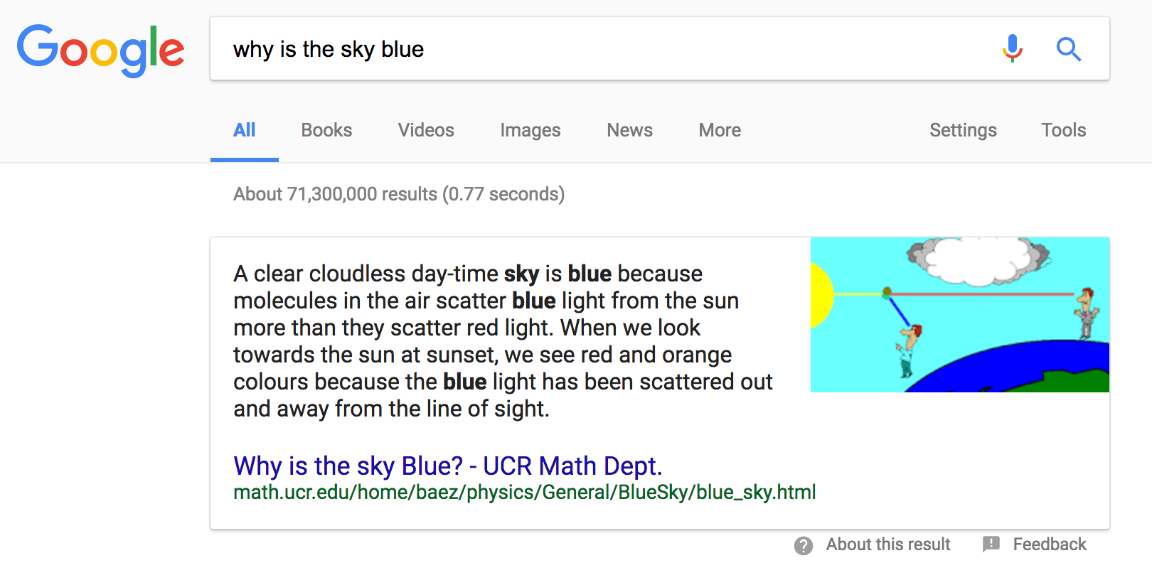 google snippets – part 2 – example